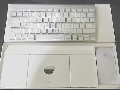 Demo As New Genuine Apple Magic Mouse A1296 Keyboard A1314 Bluetooth Wireless