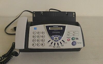 Small Personal Brother Fax-575 Plain Paper Fax In Great Condition !!