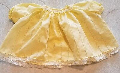 Vintage Children's Clothing - Pale Yellow Dress