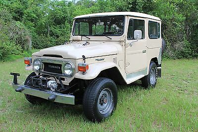 1979 Toyota Land Cruiser  79 Toyota Land Cruiser BJ40,not FJ40 in Excellent shape. LandCruiser. NO RESERVE