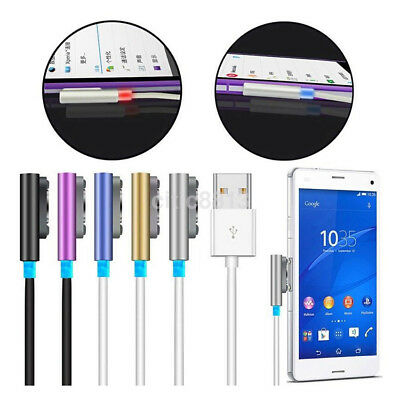 1M Magnetic USB Charger Charging Cable Adapter For Sony Xperia Z1 Z2 Z3 Compact