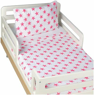 aden + anais Classic Toddler Bed in a Bag - Fluro Pink Kids Bedding Sets: Cotton