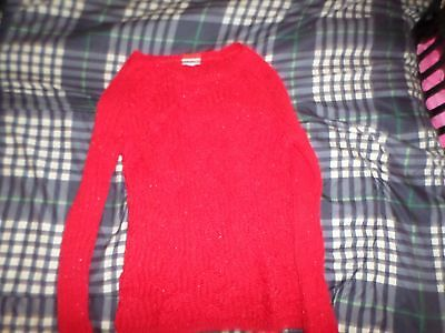 Girls sz 12 Justice Sweater