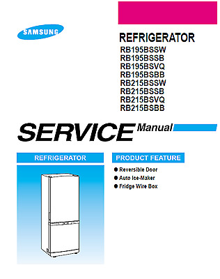 SAMSUNG REFRIGERATOR SERVICE Manual and Repair Guide