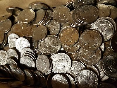 Grab Lot of $140 Mixed Susan B Anthony Silver Dollars SBA $1 Coin Hoard!