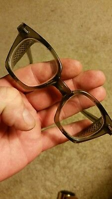 Vintage Safety Glasses - Glendale USA 5 1/2