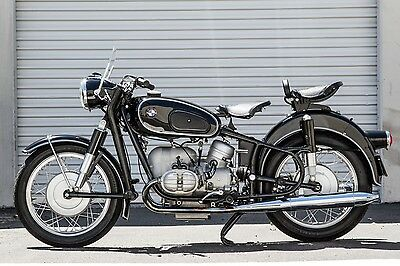 1959 BMW R-Series  1959 BMW R60 Fully Restored California Clean Title Matching Numbers