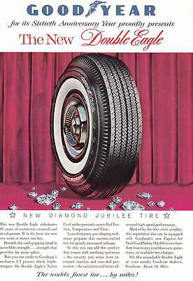 1958 Goodyear: Double Eagle, Sixtieth Anniversary (8660) Print Ad