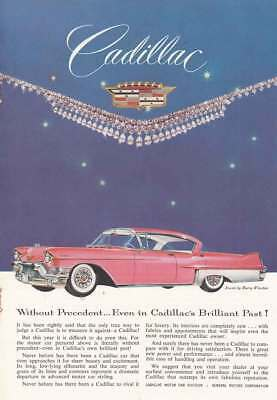 1957 Cadillac: Without Precedent, Brilliant Past (21036) Print Ad