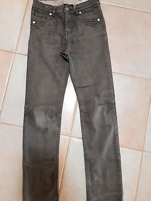 DKNY slim straight boys pants trousers size 10 brown