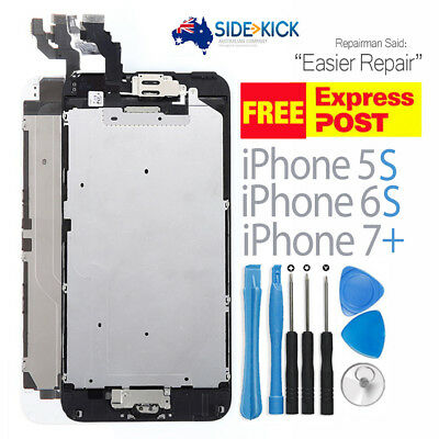 iPhone 5 5S 6 6S 7 8 PLUS LCD Screen Full Replacement Display Digitizer Assembly
