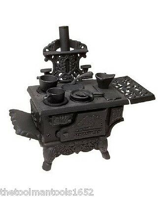 Old Mountain  Cast Iron Mini Wood Cook Stove