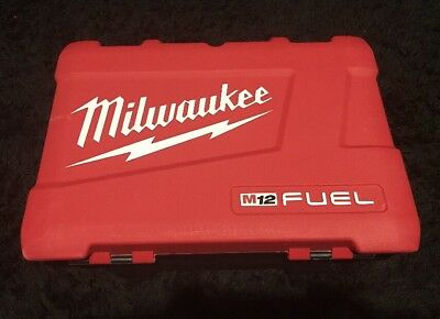 Milwaukee M12 2597-22 1/4 Impact & 1/2 Hammer Drill (Case Only)