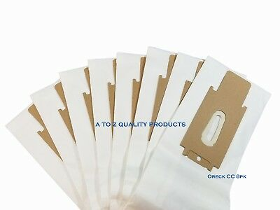 8 Allergy Bags for Oreck XL XL2 Upright Vacuum Type CC