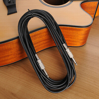 10FT Right Angle Guitar Instrument Patch Cable Cord for Electric Guitar Bass New