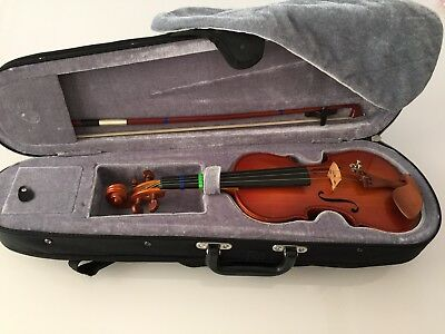 German Made Vintage Violin - With Case & Bow - Kids Size