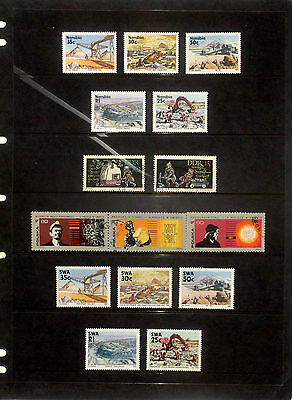 Selection of MUH & fine used thematic stamps - Mining (inc. Hagner sheet)
