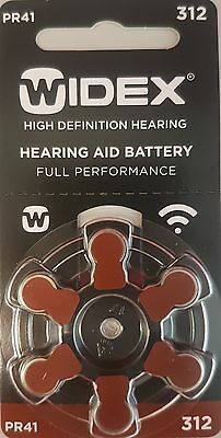 Widex Hearing Aid Batteries Size 312  - 60 cells: expiry May 2021 Buy in Bulk