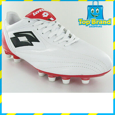 LOTTO MENS SOCCER BOOTS NRL FOOTY FOOTBALL WHITE red CHEAP BOOTS SPORTS BRAND