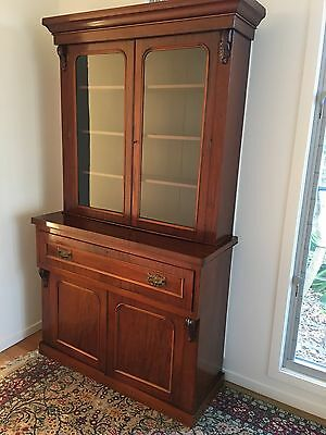 1870's Victorian Mahogany Antique Bookcase