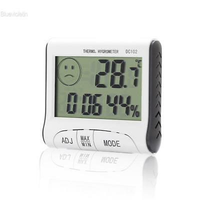 Mini Digital Thermometer Humidity Room Temperature Indoor LCD Hygrometer BL