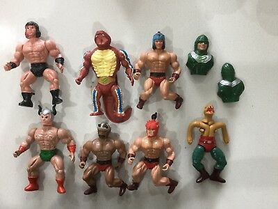 MOTU Masters Of The Universe Galaxy Warrior Fighters Figures Vintage Rambo?