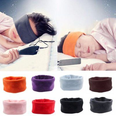Soft Sleep Sports Headphone Running Mask Headband Sleep Phones For Phone Music