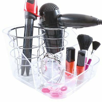 Hair Dryer Stand Tongs Wall Mounted Hair Dryer Stand with Compact Design for Curling Iron Hair Dryer and Hair Brush