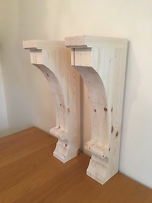 Large Hood Corbels, New England Style