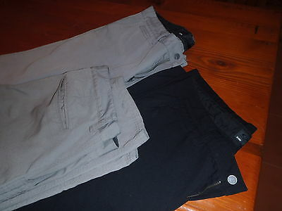 3 pairs Oakley Rifle Pant 2.0  Men's Golf Trousers. 1 BLACK and 2 GREY G+. 34W