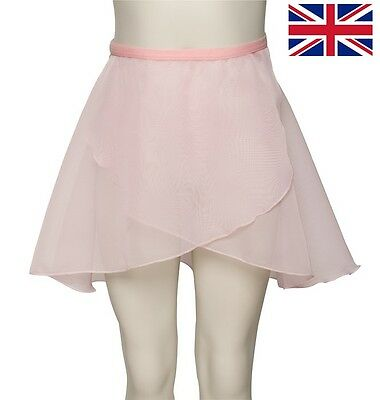 Girls Ladies Dance Ballet RAD ISTD All Colours Wrap Over Skirt By Katz KDGS04