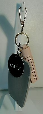 Tassels Handbag Purse Charm ID Holder BONUS FREE POM POM KEY CHAIN W/PURCHASE