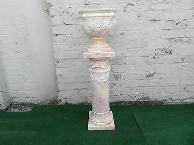 Victorian Style Porcelain Jardiniere Stand