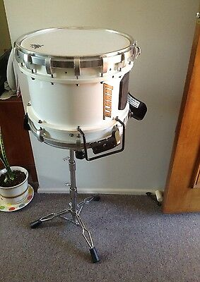 Marching Snare Drum Scottish Hi Tension Hi Quality Stand & Kevlar Head dual snar