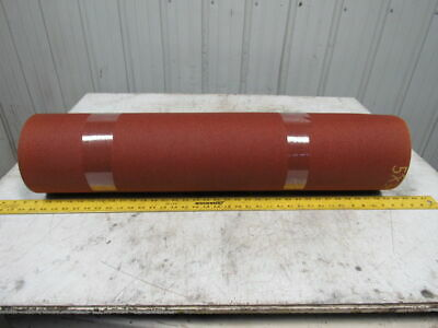 "3 ply red rubber rough top incline conveyor belt 5' X 34-1/4"" X 0.313"""