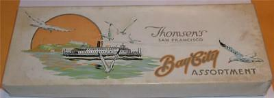 Vintage Thomsen's Bay City Assortment Candy Box  Box only