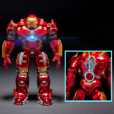 Avengers Age of Ultron LED Iron Man Action Figure PVC Toy Doll