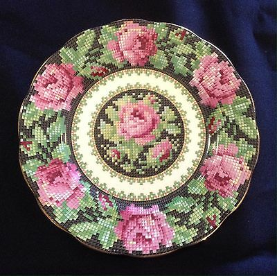Rare Royal Albert 'Needle Point' Bone China Bread & Butter Plate
