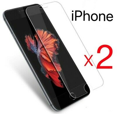 Verre Trempe Iphone Vitre Film Protection Ecran 11 Pro Max Se 2020 6 7 8 Xr Xs