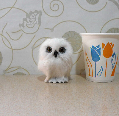 Magic Wizarding World Of Harry Potter Snowy Owl Hedwig Realistic Toy Kids Gifts
