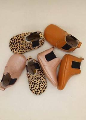 new toddler genuine leather boots unisex baby boy leather shoes newborn boots