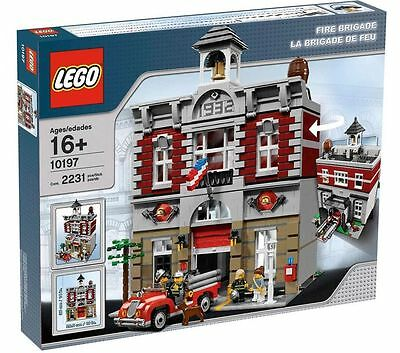 LEGO CREATOR  Fire Brigade 10197 NEW SEALED BOX Melb Pickup Available - RETIRED