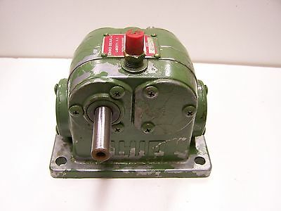 Ohio Gear D0X Double Gear Gearbox Speed Reducer 8:1 Ratio Assembly A