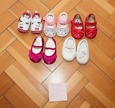 girls shoes bundle 0-18 months, NEXT mostly unworn