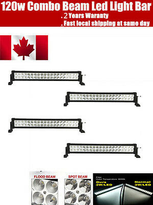 4PCS 22inch 120W LED Light Bar Work COMBO BEAM Driving Offroad Truck SUV NEW