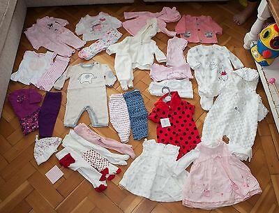 Bundle Of Baby Girls Clothes Newborn 0-3 Months 27 Items REDUCED!!