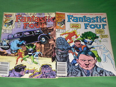 Fantastic Four _  291 ,292 Two Issues 1984 #