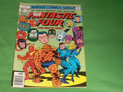 Fantastic Four _  190#  The Way It Was ! 1977 #