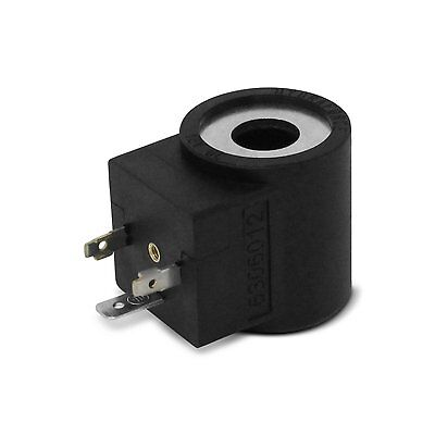 HydraForce 6306012 Solenoid Valve Coil 3 Prong DIN Connector, 12v DC, Size 08