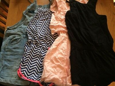 Girls Playsuits Bundle Age 9-10years Hardly Worn! Monsoon, Zara, Next, H&M
